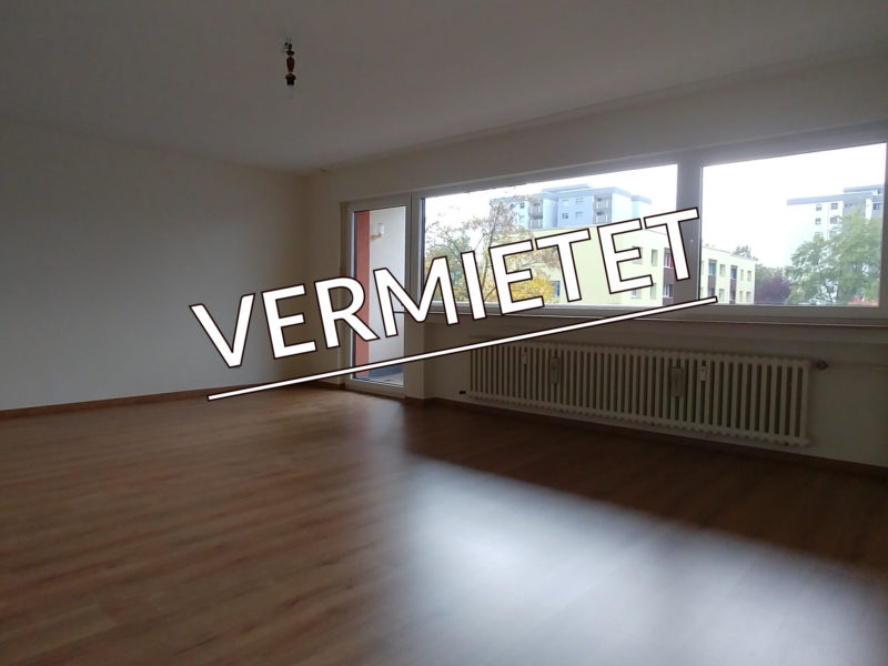 Erstbezug nach Renovierung – tolle Wohnung mit zwei Balkonen!